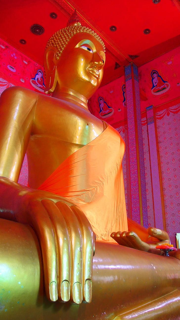 Pastor zelená, Thajsko temple, opatrenie, náboženstvo, Thajsko, Gold, budhizmus