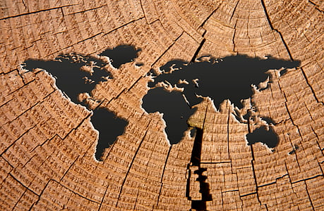 món, mapa, mapa del món, terra, vell, globus, patró