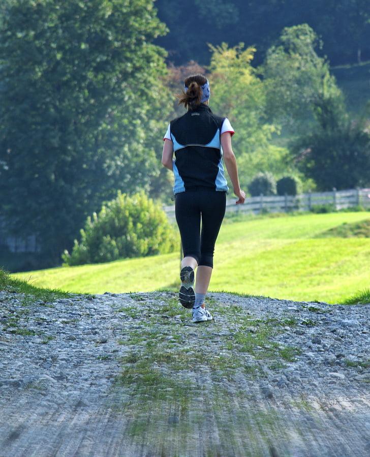 Kobieta, Uruchom, jog, Sport, Dziewczyna, aktywny wypoczynek, szkolenia