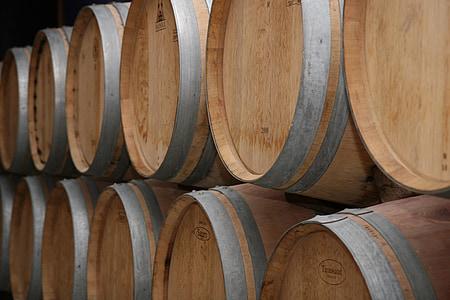 Winery, France, Bordeaux, rouge, vin, baril, barriques