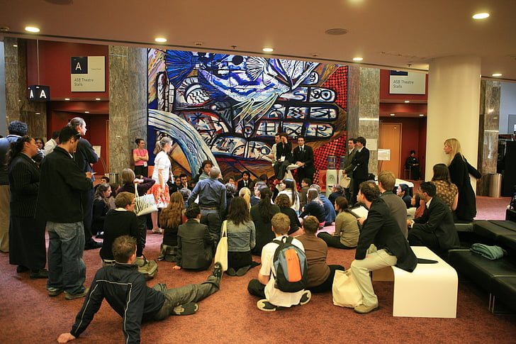 meeting, youth, students, cooperation, people