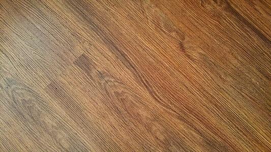 marró, pis, parquet, patró, textura, fusta, pis de fusta