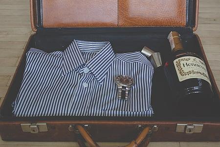 zavazadla, svátky, balení, kufr, cestování, cestování, cestování