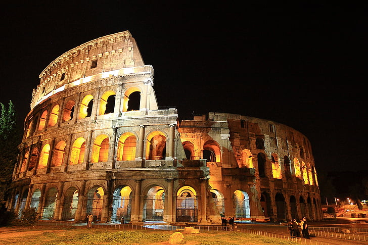 el Colosseu, Itàlia, romà, ruïna antiga, història, destinacions de, Turisme