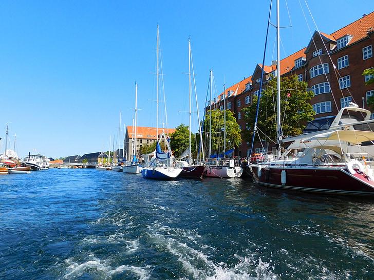 Đan Mạch, Copenhagen, thuyền, tôi à?, chuyến đi, Ngày Lễ, Gita