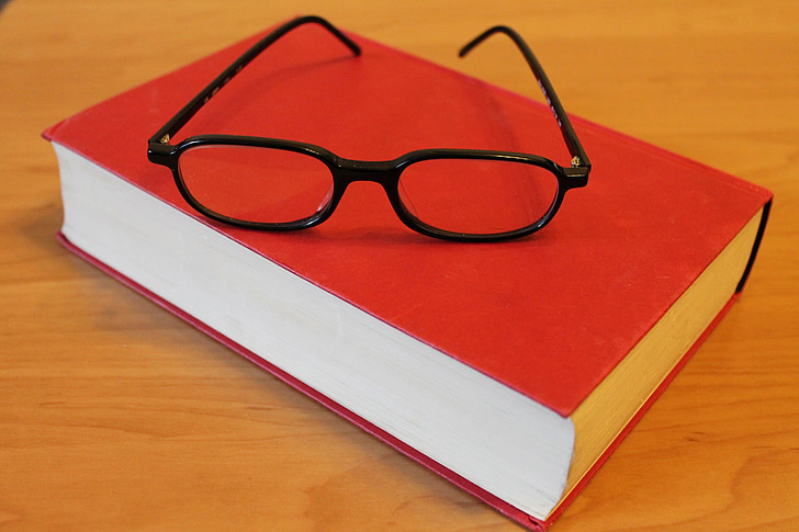 book, glasses, read, education, learn, study, school