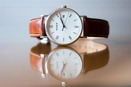 analoog kella, blur, klassikaline, Suurendus:, elegantne, mood, fookus