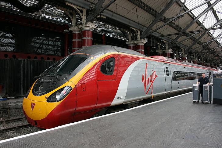 기차, 초고속 열차, 리버풀