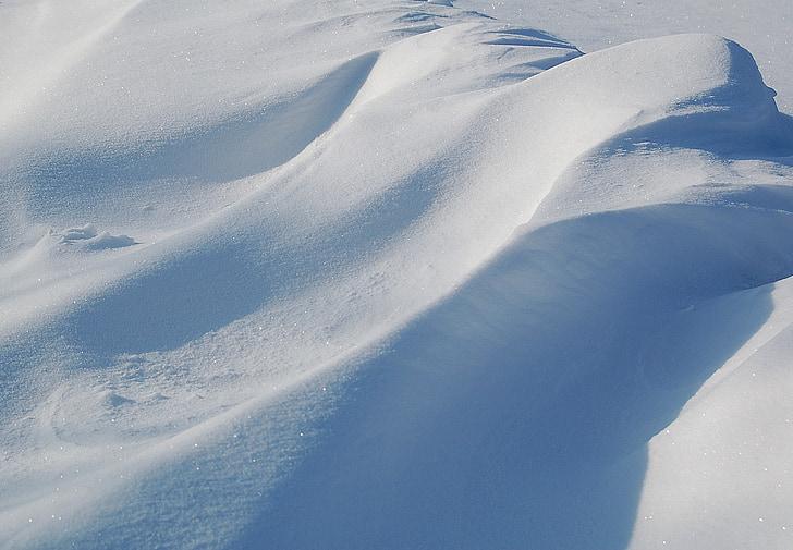 zimné, pozadie, sneh, biele pozadie, mráz, Príroda, pozadie