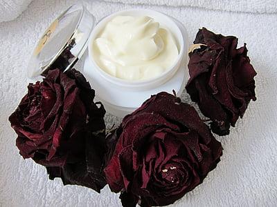 ihonhoito, luonnonvalkoinen, nousi, Skin care kauneus, Spa, orgaaninen, kerma