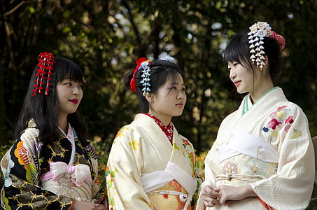 kimono, one crafted, k, women, japan, child, children only