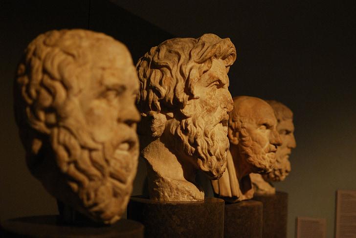 Bustos, filsofia, Aristoteles, Philosophen, Griechen, wissen, Philosophie