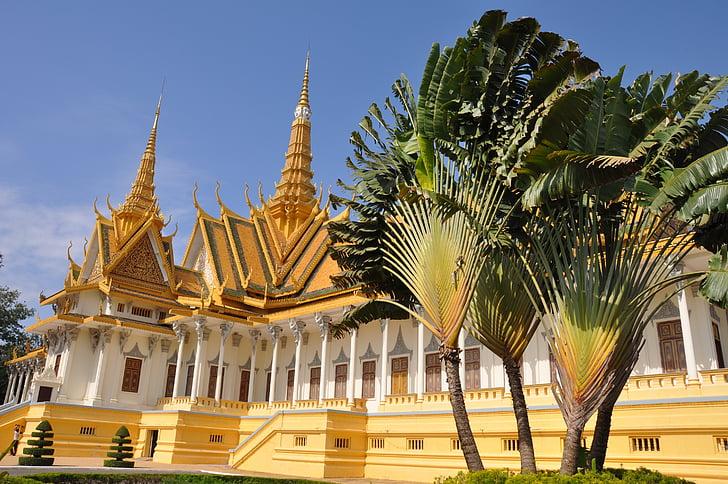 Пном Пен, храма, Камбоджа
