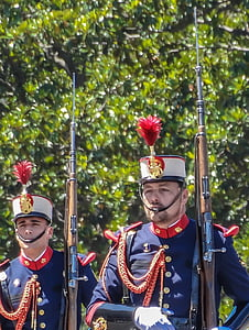 parade, royal guard, military, in formation, uniform, military service, army