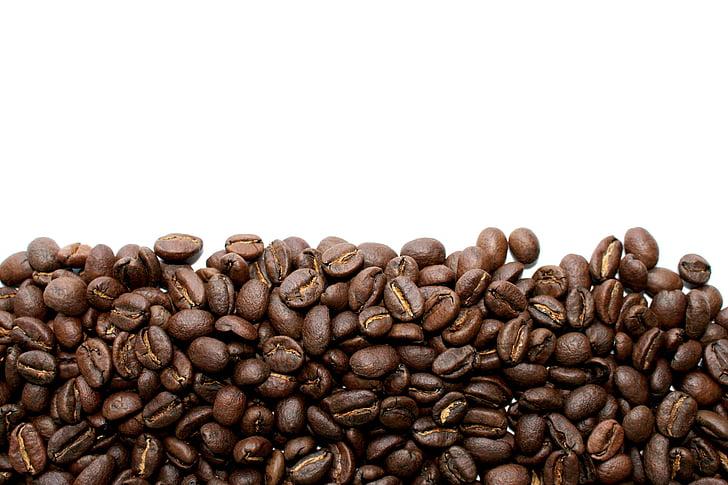 cafè, fesols, grans de cafè, cafè exprés, begudes, torrat, tancar