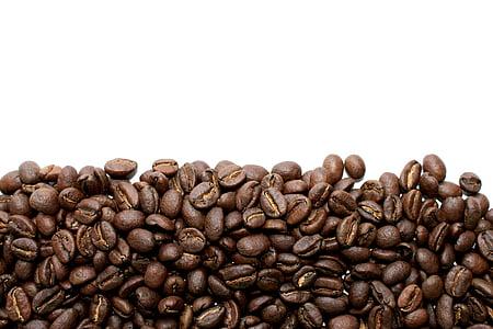 καφέ, φασόλια, κόκκοι καφέ, εσπρέσο, ποτά, καβούρδισμα, Κλείστε