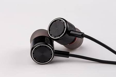 Rozvaž sluchátka, koncovky, sluchátka, Hudba, sluchátka, poslech, stetoskop