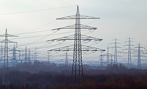 energy, current, power poles, power line, electricity, high voltage, pylon
