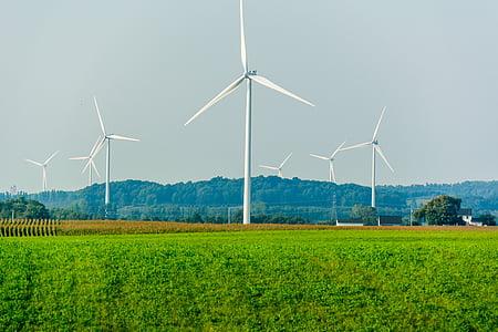 vent, poder, energia, renovables, alternativa, verd, ambiental