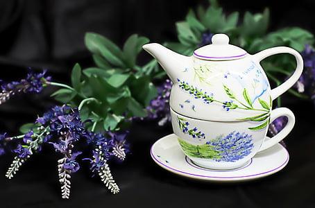 xícara de chá, Copa, cerâmica, bule de chá, t, bebida, chá - quente bebida
