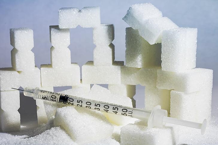 diabeet, U100, insuliini, süstal, haiguse, Tervishoid, meditsiinilise