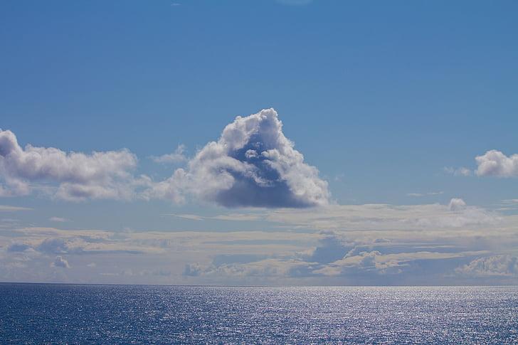 pilve, Ocean, Vaikse ookeani