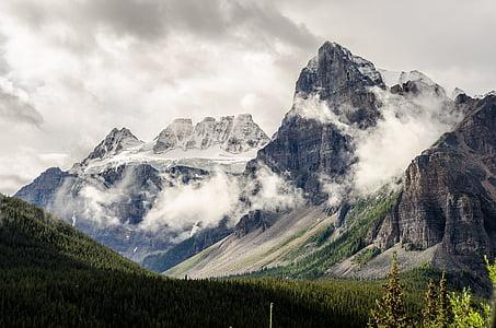 paisatge, muntanya, cim de la muntanya, natura, a l'exterior, muntanya rocosa, escèniques