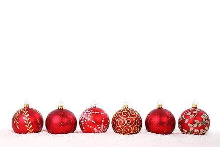 Priorità bassa, palla, Bagattella, celebrazione, Natale, decorazione, vetro