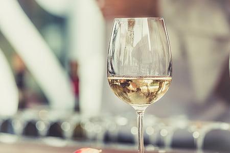 liquor, champagne, glass, white wine, wine glass, wineglass, alcohol