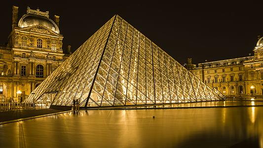 Louvre muuseum, Prantsusmaa, muuseum, Travel, Kultuur, arhitektuur, Pariis
