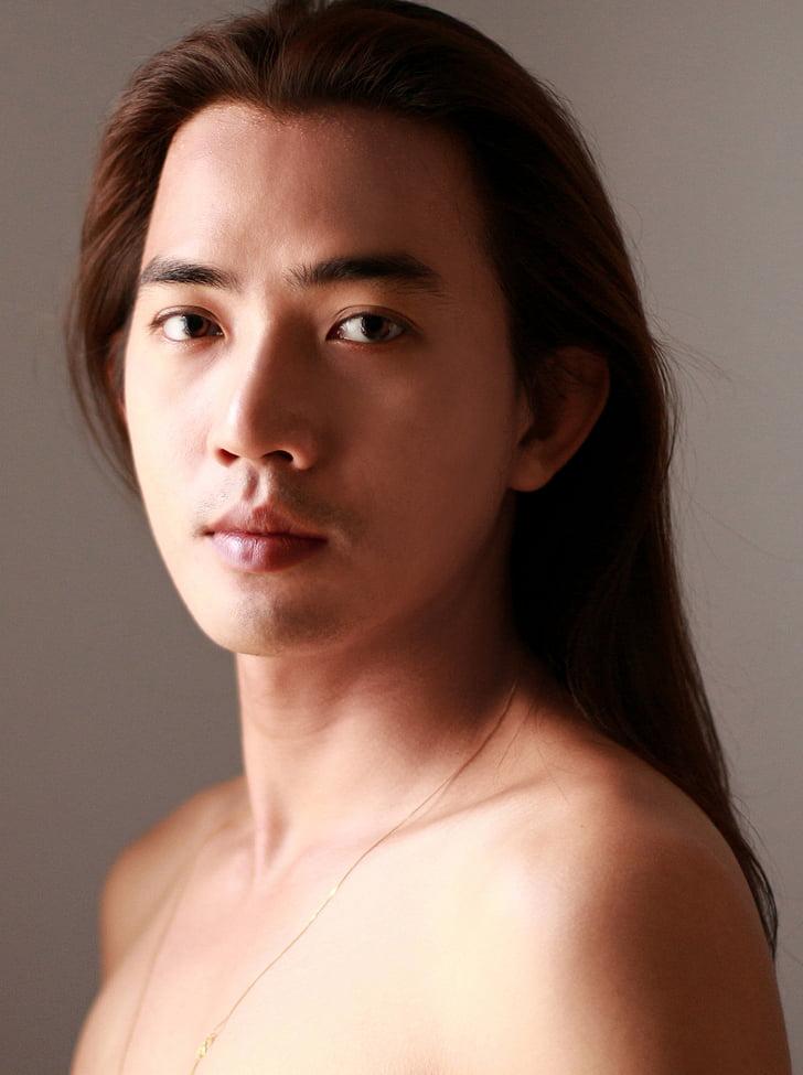 Free Slika Duga Kosa Samostojećih Lice Osoba Muška