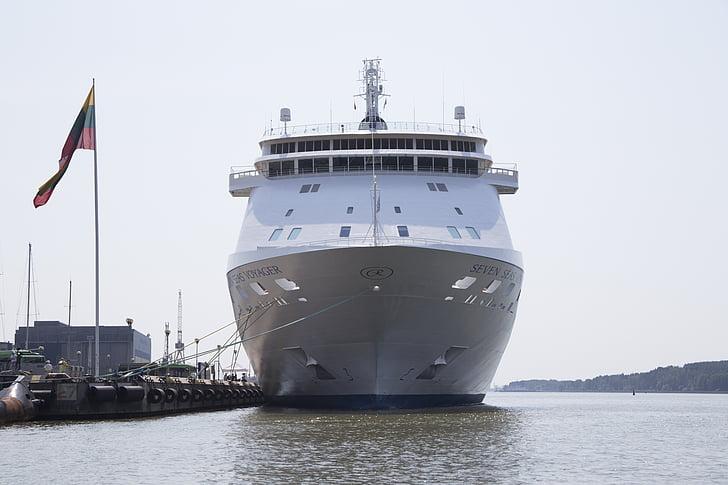 skib, krydstogtskib, krydstogt