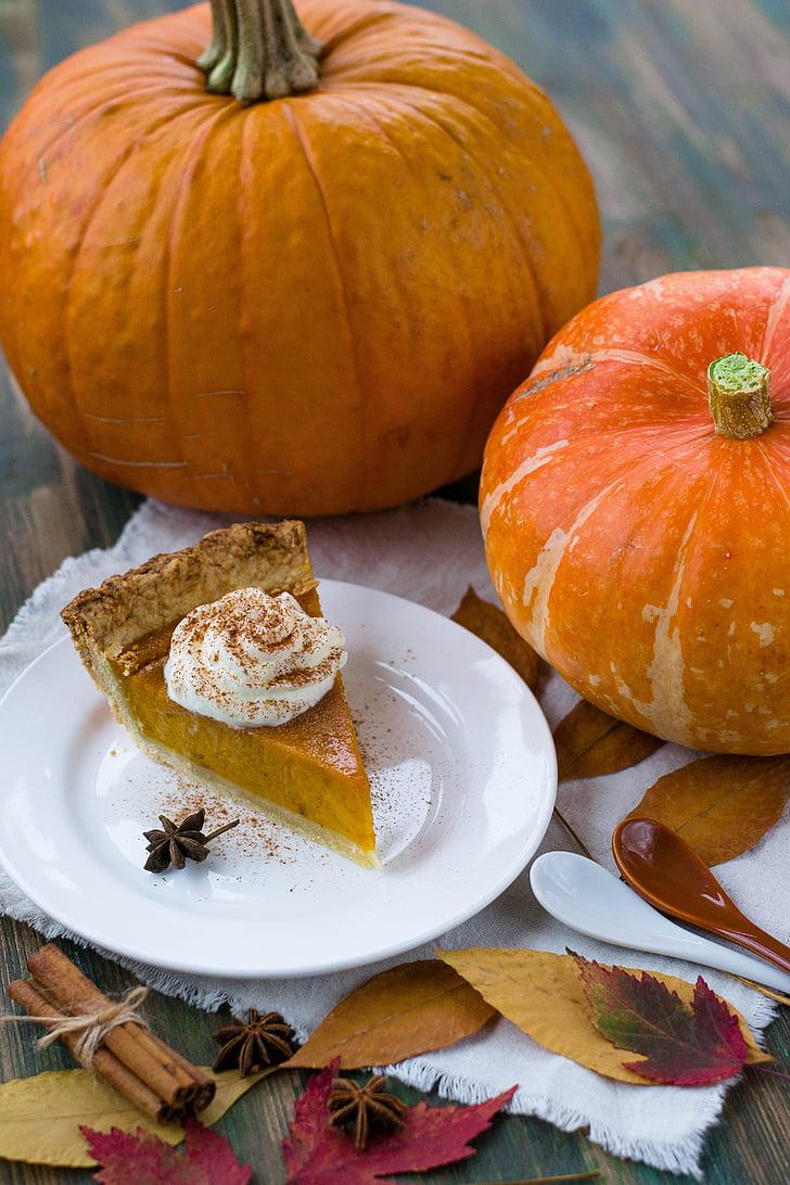 秋, 明るい, シナモンスティック, クローズ アップ, 色, おいしい, デザート