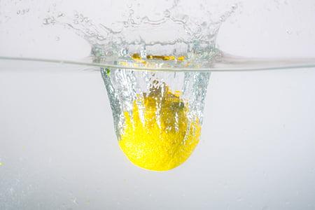 vode, vbrizgamo, limone, spray, voda brizgom, prelivanja, kapljično