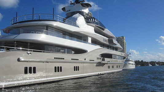 megayacht, båtliv, båt, Yacht, vatten, Ocean, nautisk