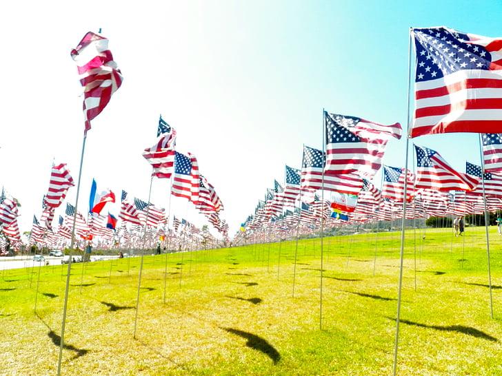USA flag, nationale, patriotisme, dom, patriotisk, uafhængighed, 4 juli
