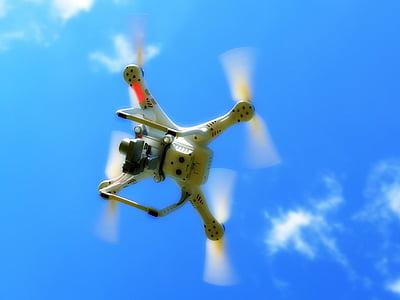 abellot, quadcopter, quadrocopter, màquina voladora, rotor, aeronaus, hèlix
