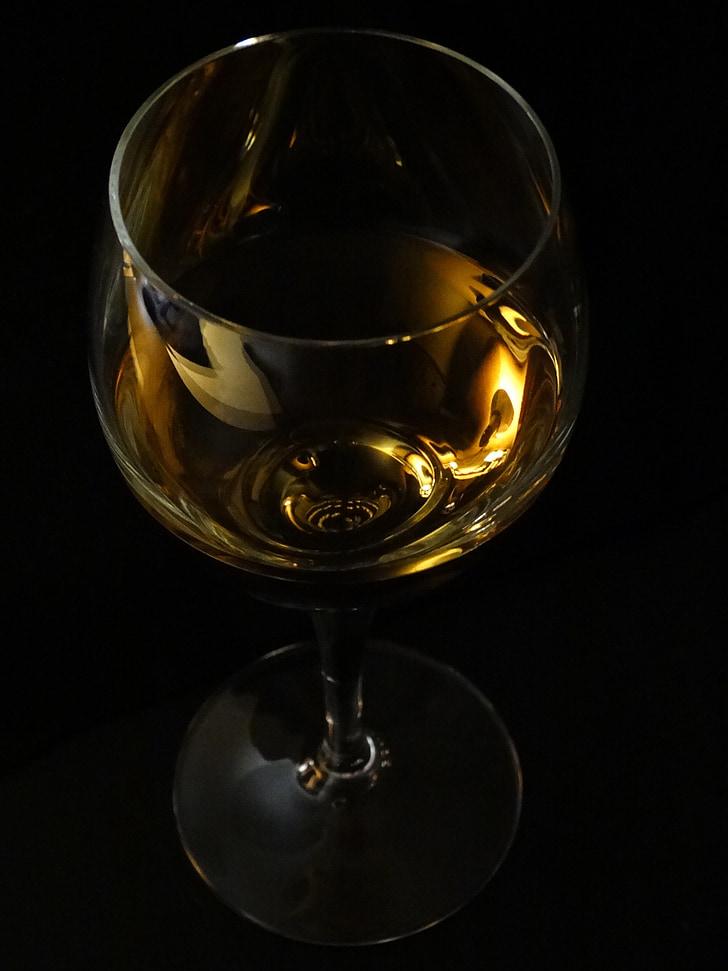 vi, Copa de vi, beneficiar-se de, beguda, vidre, clar, líquid