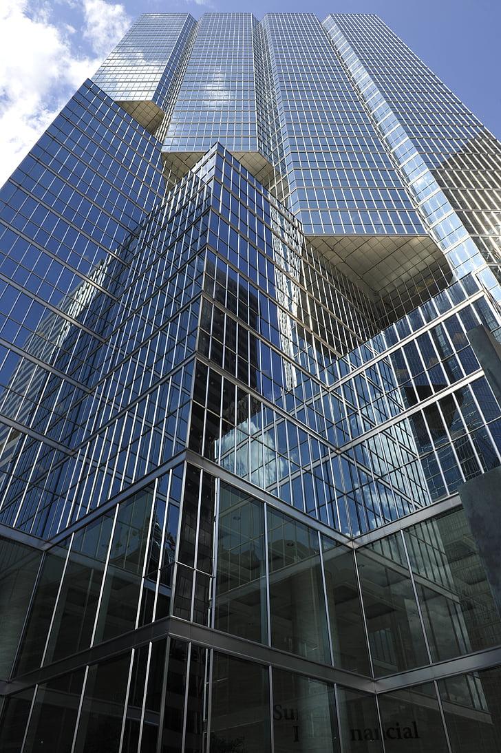 arhitektuur, klaas, hoone, kaasaegne, taevas, kaasaegne hoone, akna
