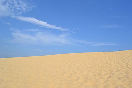 Duna du Pyla, Duna, písek, Pilat Duna, léto, krajina, poušť