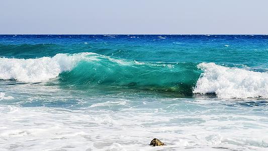 κύμα, νερό, υγρό, σπρέι, αφρώδες υλικό, στη θάλασσα, φύση