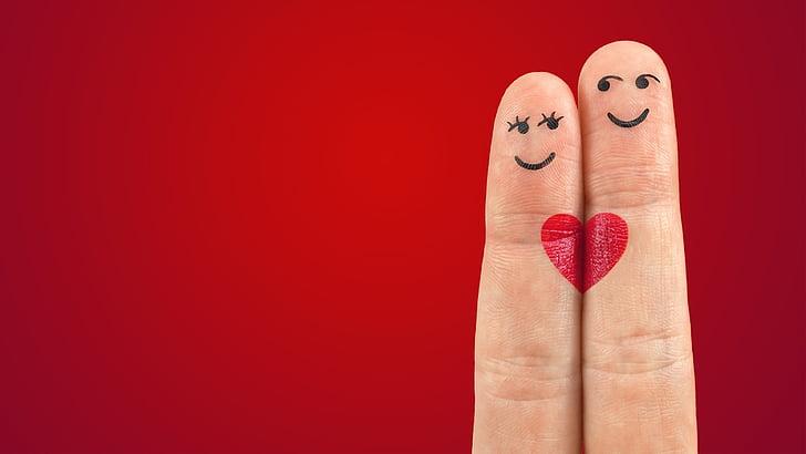 Art, dits, cor, l'amor, parell, vermell, llapis de llavis