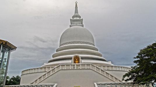 chrám, budhizmus, Pagoda, budhistické, chrámový komplex, Srí lanka, Buddha