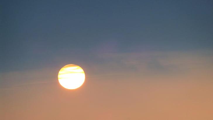 sol, cels, Alba, atmosfèrica, natura, morgenstimmung, posta de sol