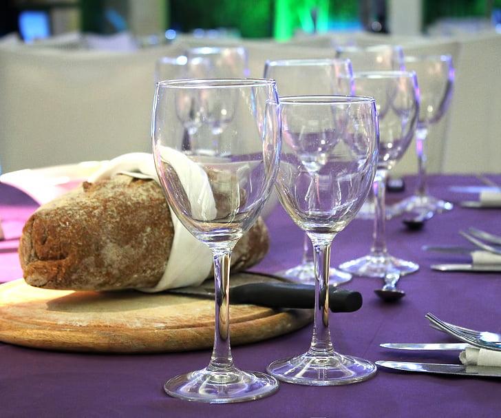 veini, veini klaasi, viinapuude, menüü, sündmus, klaas, jook