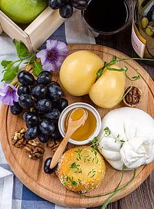 siers, siera plate, pārtika, uzkodas, virtuves, garšīgi, ēstgribu