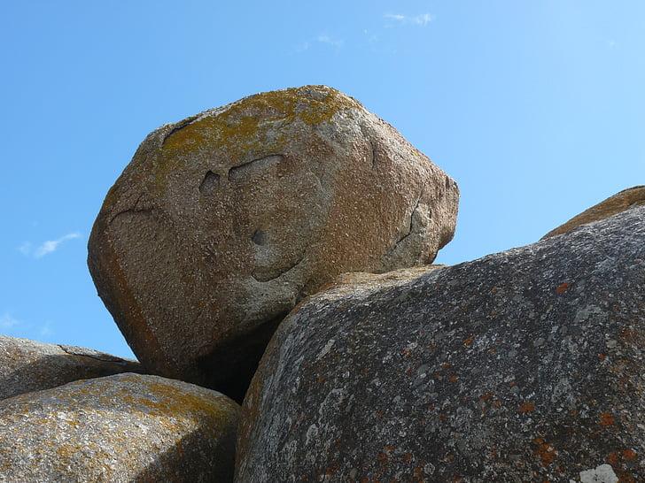 rocha, pedras, África, pedras naturais, pedras, granito, Rock - objeto