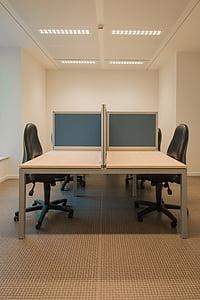 事務所, オープン スペース, 事務室, 部屋, 企業, ビジネス, モダンです