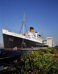 RMS queen mary, cruiseskip, pensjonert, skipet, Cruise, underholdning, sjøen