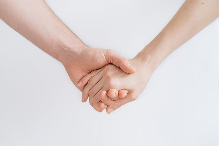 nắm giữ, bàn tay, mọi người, con người, bàn tay đang nắm giữ